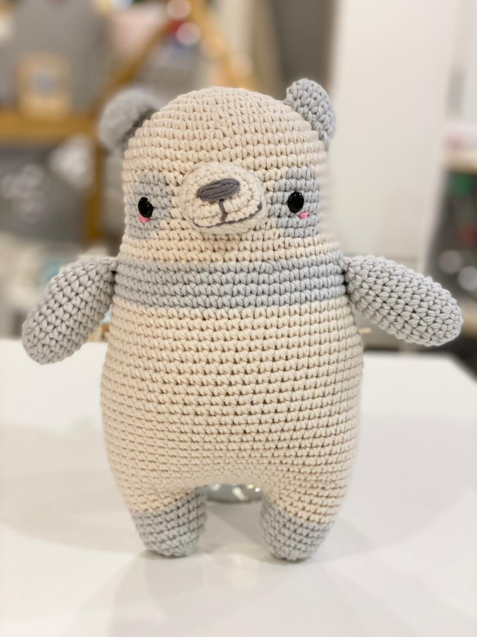 Osito panda crochet