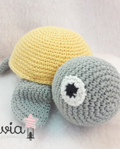 Tortuga crochet